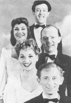 Judy joined a cabaret act with Adolph Green, Betty Comden, Alvin Hammer and John Frank. The group would come to be known as The Revuers.