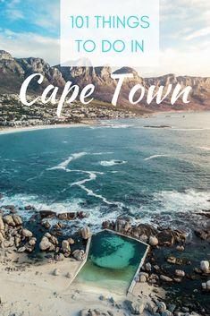 101 Things To Do In Cape Town – Campsbay Girl 101 Dinge, die man in Kapstadt unternehmen kann – Campsbay Girl Africa Destinations, Amazing Destinations, Travel Destinations, Cool Places To Visit, Places To Travel, Stuff To Do, Things To Do, Cape Town South Africa, Africa Travel
