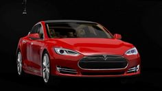 Tesla S car by Craftsle - Free Sims 3 Cars Downloads Craftsle Custom Content Caboodle - Best Sims3 Updates and Finds