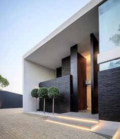 The Battle Over Modern House Design Architecture And How To Win It 218 - Pecansthomedecor Modern Villa Design, Modern Architecture Design, Amazing Architecture, Interior Architecture, Best Modern House Design, Luxury Interior, Modern Exterior, Exterior Design, Modern House Exteriors