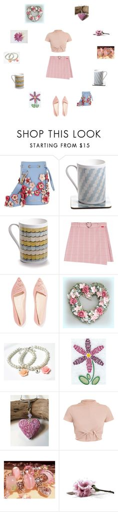 """""""Blush pink and pretty"""" by einder ❤ liked on Polyvore featuring Marina Hoermanseder and Sophia Webster"""