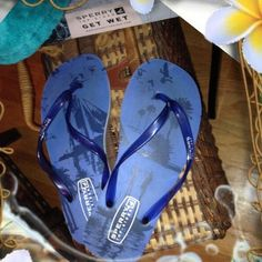 ☀️SPERRY GET WET FLIP FLOPS☀️ Now here's a cute pair of Sperrys FlIp Flops, in a beautiful vibrant blue and will compliment all your cute summer casual wear.. A girl needs a lot of flip flops.. I mean.. At least a rainbow of colors, so we don't get bored.. BOX INCLUDEDPRICE IS FIRM UNLESS BUNDLED Sperry Calypso Sailboat Shoes
