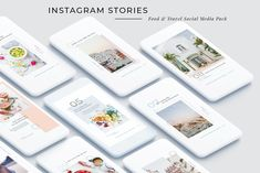 Food & Travel Instagram Stories Pack by SilverStag on @creativemarket