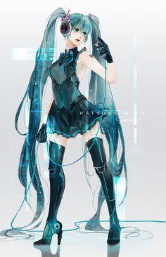 Yüm(@Yuuummmm)さん | Twitter Yüm@Yuuummmm 2016年11月12日 ひさびさ....。みくちゃん Anime Girl Neko, Kawaii Anime, Anime Girls, Hatsune Miku, Character Art, Character Design, Kaai Yuki, Kagamine Rin And Len, Miku Chan