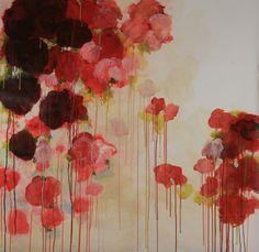 "Gaby Silva Bavio; Painting, ""Cascada"""