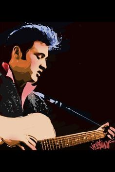 Elvis - Joe Petruccio Art