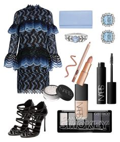 """""""Trending Challenge"""" by shevlai on Polyvore featuring Erdem, Casadei, Smythson, Cathy Waterman and NARS Cosmetics"""