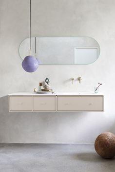 Pastel Bathroom, Bathroom Colors, Colorful Bathroom, Montana Furniture, Remodled Bathrooms, Bathroom Trends, Bathroom Ideas, Home Interior Design, Room Decor