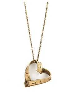 Ruler Heart necklace