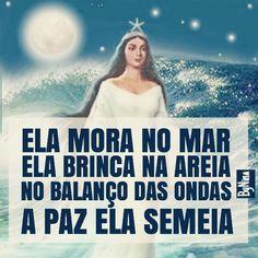 """@instabynina's photo: """"Salve Iemanjá! A Rainha do Mar!  #iemanja #instabynina"""""""