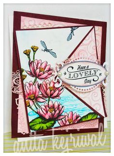 WATER LILY by anitak160 - Cards and Paper Crafts at Splitcoaststampers
