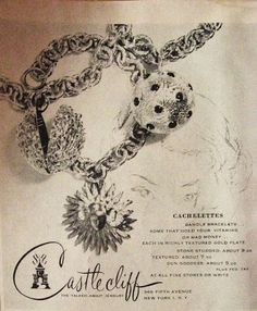 Library of Vintage Jewelry Ads - Part One | Carmen and Ginger