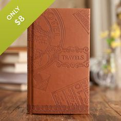 Travels - Premium Leather Christian Journal