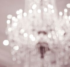 out-of-focus chandelier... I would like something focused in the foreground