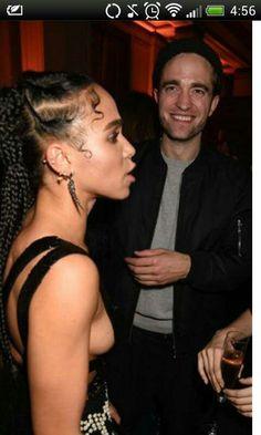 Rob and Tahliah at Brit Awards after party 2015