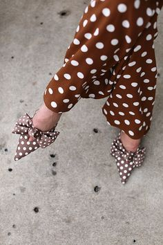 Atlantic Pacific Polka Dot Jumpsuit // Click through for the full post and shopping links! #jumpsuit #polkadot #polkadots