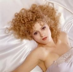 vintageruminance:  Bernadette Peters eyes