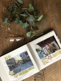 ✄ SCRAPBOOKING #scrapbooking #DIY #scrapbook #photo #album #glasses