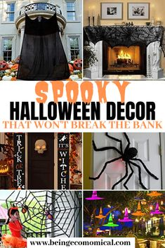 Get everyone in the mood this Halloween with these super silly, super spooky, and hilariously scary indoor and outdoor Halloween decorations that won't break the bank.