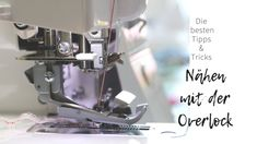 Sewing with the overlock: the best tips & tricks, . - Sewing with the overlock: the best tips & tricks, … Sewing with the overlock: the best tips & tricks, Baby Sewing Projects, Sewing Projects For Beginners, Crochet For Beginners, Sewing Hacks, Sewing Tutorials, Sewing Patterns, Sewing Tips, Makeup Tricks, Baby Lock