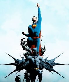 By Jae Lee Superman, Batman, Jae Lee, Statue Of Liberty, Comic Art, Comics, Children, Celebs, Artists
