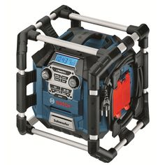 Best Find Bosch Blue PowerBox Worksite Radio Charger at Bunnings Warehouse Visit your local store