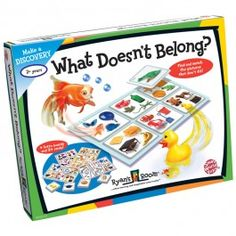 What Doesn't Belong? Find and match the pictures on the cards to the objects on the play board as you play this very smart kids game! Manufactured by Ryan's Room. Autism Learning, Learning Games, Therapy Games, Speech Therapy, Clever Kids, Photo Games, Fun Arts And Crafts, Speech And Language, Good Advice