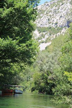 Croatia - River Cetina near Omiš #croatia #chorwacja #omis