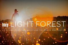 #lucylightforest