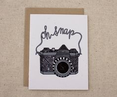 Any Occasion Card  Oh Snap Camera