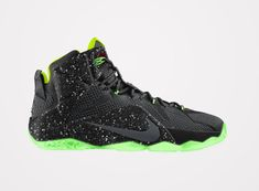Nike Lebron 12 'Data' King James' Twelfth Nike Signature