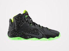 Nike Lebron 12 ID Glow In The Dark-2