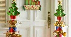 Utiliza enormes cajas de cartón para crear llamativas decoraciones navideñas parainterior o exterior de tu casa. Crear este tipo de adorno... Christmas Decorations, Holiday Decor, Nice, Interior, Home Decor, Yule Decorations, Ornaments, Carton Box, Christmas Crafts