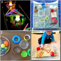 8 Toddler Invitations to Play. Toddler Activities (some suitable for babies and older kids too)