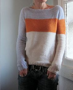 Grasflecken Another slash neck pullover that I've fallen for Diy Pullover, Knitting Projects, Hand Knitting, Knitwear, Knit Crochet, Knitting Patterns, Wool, Sweaters, Wealth