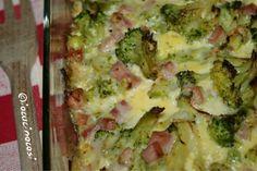 Ricetta Sformato di broccoli con prosciutto cotto e uova