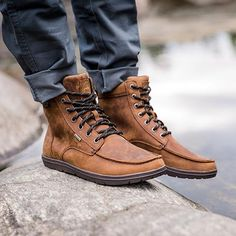 Zero Drop Shoes, Men Hiking, Hiking Boots For Men, Casual Boots For Men, Shoes For Men, Mens Waterproof Hiking Boots, Men Casual, Mens Snow Boots, Mens Winter Boots