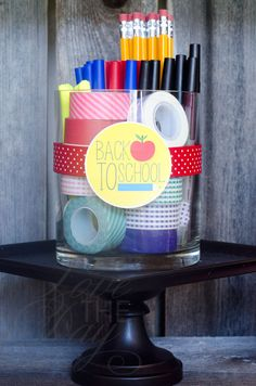 Back To School Printable Party by Love The Day #backtoschool #printable