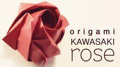 Origami - Kawasaki Rose (you can never have too many tutorials of the Kawasaki Rose)