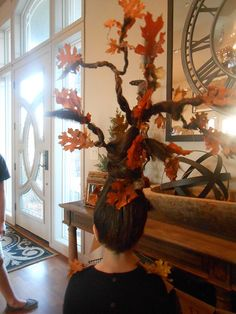 Crazy Hair day - Fall tree