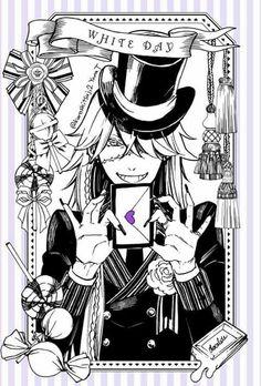 Undertaker   Kuroshitsuji - Black Butler #Anime #Manga ☆by Yana Toboso