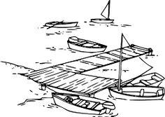 Barcos, Veleiros, Barcos A Motor, Doca