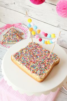 Fairy Bread Cake Sprinkles Collaboration by Munchkin Munchies.