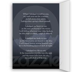 Asatru Love Cards from Zazzle.com