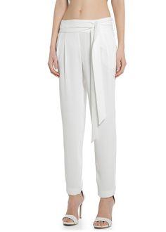 Textured flowy trousers 349:- Mango