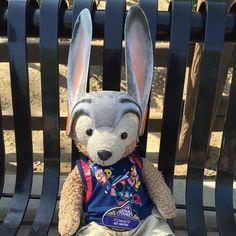 #JudyHopps #Zootopia #Disneyland by duffy_thebear