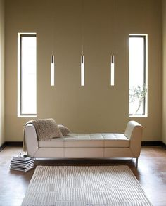 Modern Minimalist hanging lamps. 3W LED Neuron pendants from LBL