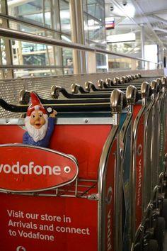 trolly at brisbane airport