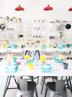 ORGANIZE WITH STYLE. Image of classroom organization. Loved by confettiandbliss.com