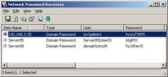 Network Password Recovery 64bit v1.40 When you connect to a network share on your LAN or to your .NET Passport account, Windows allows you to save your password in order to use it in each time that you connect the remote server. This utility recovers all network passwords stored on your system for the current logged-on user. It can also recover the passwords stored in Credentials file of external drive, as long as you know the last log-on password. #computers #software #freeware